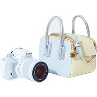 EOS 100D Camera and Linda Bag by Canon x Stella McCartney