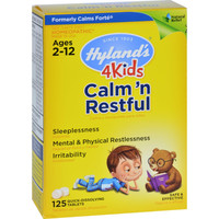 Hylands Homeopathic Calms Forte 4 Kids - 125 Tablets