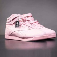 Reebok Women Fashion Trending High Help Casual Leather Shoe Running Sport Shoes Sneakers  I-A-YYMY-XY