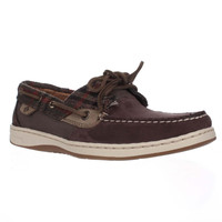 Sperry Top-Sider Bluefish Two Eye Boat Shoes - Wool Brown
