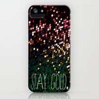 stay gold. iPhone Case by noirblanc777 | Society6