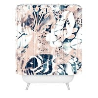 CayenaBlanca Jungle Memoirs Shower Curtain