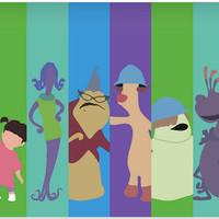 Disney Pixar Monsters Inc Poster