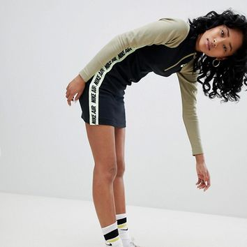 Nike Bodycon Dress With Neon Taping at asos.com