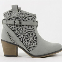 Paris Patisserie Lace Booties