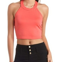 Banded Halter Crop Top by Charlotte Russe