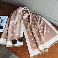 Louis Vuitton LV New Product Fully Printed Ladies Shawl Scarf
