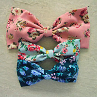 Floral Bow Lot #4 from Love What's Missing