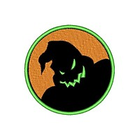 """Patch Craft - Boogie Man (3"""" & 2"""" Round, Iron-on patch)"""