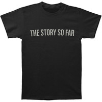 Story So Far Men's  Drone On My Own T-shirt Black