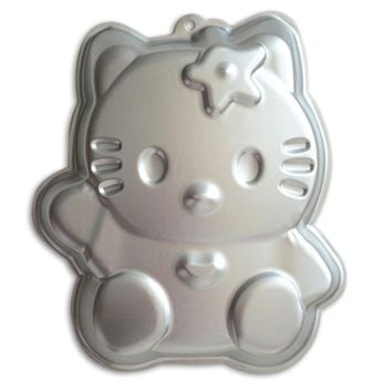 Birthday Party Cake Decoration Hello Kitty 12 Inch Aluminum Alloy 3D Baking Mold  Tin Pan