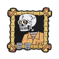 Bamboo Skull Patch