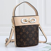 Louis Vuitton LV High Quality Fashion Canvas Satchel Crossbody