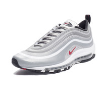 NIKE AIR MAX 97 HYPERFUSE - METALLIC SILVER/RED | Undefeated