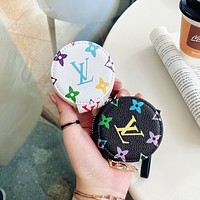 Louis Vuitton LV Fashion Classics Print For Apple AirPods 1 2 Pro Protective Case Headphone Case Shell No Headset