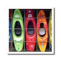Kayak - 6x6 Iron On Heat Transfer For White Material