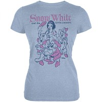 Snow White - Seven Dwarfs Juniors T-Shirt
