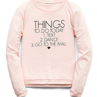 Go To The Mall Top (Kids)