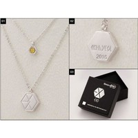 Necklaces & Pendants Exo Exo-m Exo-k Necklace Baek Hyun Chan Yeol Xiumin Kpop Pendant Jewelry Gifts Lay Products Poster Xoxo