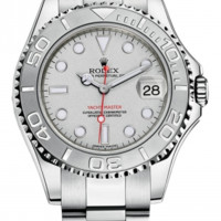 Rolex - Yacht-Master Steel and Platinum Lady