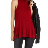 Crew Neck Swing Tunic Top by Charlotte Russe