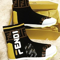 FENDI Socks boots