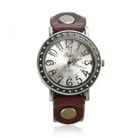 Vintage Cow Leather Watch on Luulla