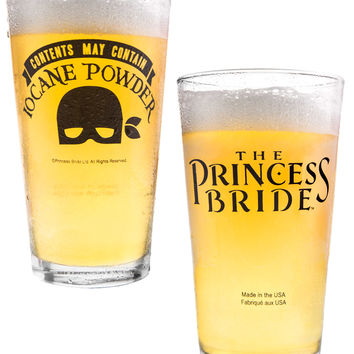 "The Princess Bride ""Iocane Powder"" Pint Glass"