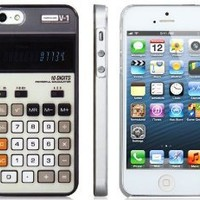 Tanboo Retro Calculator Protective Case for iPhone 5