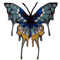 XXL Extra Large 30cm Butterfly Patch Badge