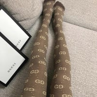 GUCCI GG Winter Knit Tights