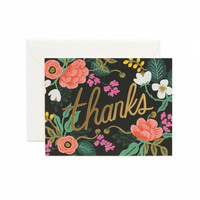Rifle Paper Co.: Floral Thank You Card