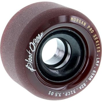 Blood Orange Morgan 65mm 82a Maroon Longboard Wheels