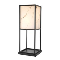 Square Black Floor Lamp | Eichholtz Barret