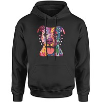 American Pitbull Graffiti  Adult Hoodie Sweatshirt