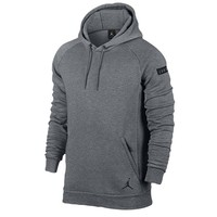 Jordan Icon Fleece Pull Over Hoodie - Men's at Champs Sports