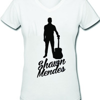 Shawn Mendes V-Neck Tee