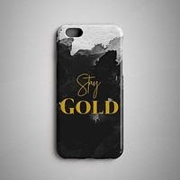Stay Gold iPhone 8 Plus Case iPhone 8 Case Huawei