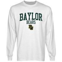 Baylor Bears Team Arch Long Sleeve T-Shirt - White