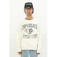 Immaculate Conception School Crewneck in White