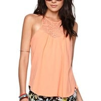 O'Neill Drea Tank - Womens Tees - Orange -