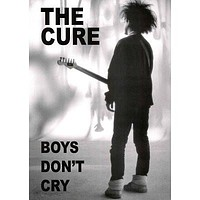 THE CURE POSTER Boys don't Cry RARE NEW HOT 24x36