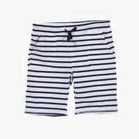 Egg - Jersey Pull On Shorts P4JE2004 - Navy Stripe - FINAL SALE