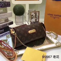 Louis Vuitton Lv Monogram Leather Eva Inclined Shoulder Bag #16201 - Best Deal Online