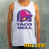 Taco Bell Logo Clothing Tank Top For Mens