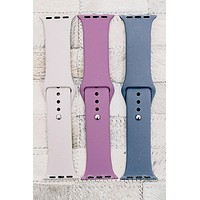 Solid Color Smart Watch Band | Colors