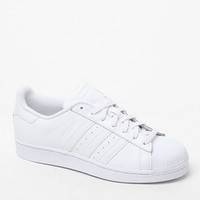 adidas Women's White Stripe Superstar Low-Top Sneakers at PacSun.com