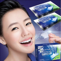 2pcs/pack Pro Oral Care Teeth Whitening Strip Tooth Bleaching Whitestrip beautifulspace [9302675018]