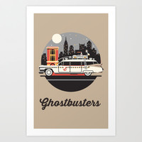 Ghostbusters Art Print by Nostromo