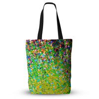 "Ebi Emporium ""Holiday Cheer"" Yellow Green Everything Tote Bag"